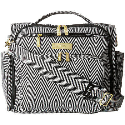 "NEW Ju-Ju-Be - Black/White ""THE QUEEN OF THE NILE"" B.F.F. Diaper Bag -SALE"