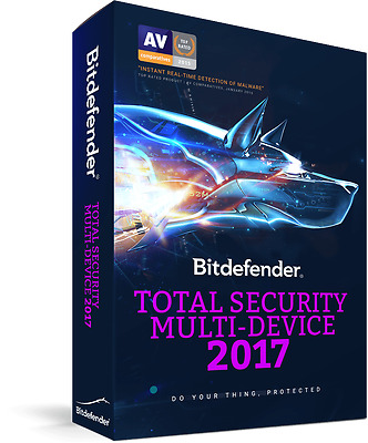 Bitdefender Total Security Multi-Device 2017 5 Device 1 Anno