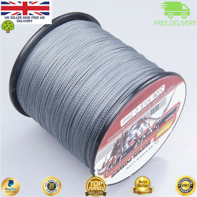 Super Dyneema 300-1000M  30-50LB Fishing Braid Carp Line Army Grey Spod Marker