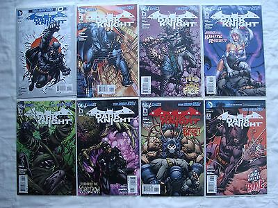 DC the New 52 Batman the Dark Knight 0 1 2 3 4 5 6 7 8 9 10 11 12-25 LOT of 28