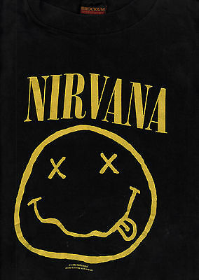 Nirvana 1992 Nevermind Tour Vintage Concert Extra Large Tee T Shirt