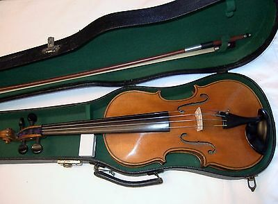 Excellent sounding Kessler 4/4 violin in good playing order & condition case bow