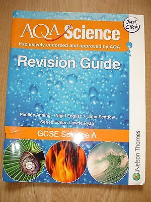 Used AQA GCSE Science Revision Guide Book Paperback 2006