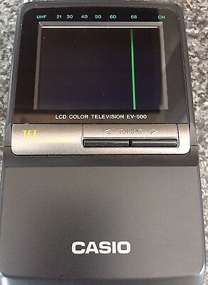 Casio EV-500D Handheld Mini Color Retro Tv