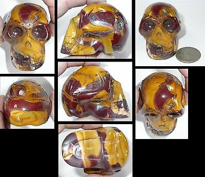 ~Awesome!~ Multi-Colored POLYCHROME JASPER Crystal Skull w/ Vugs! S15977