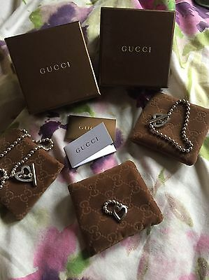 gucci sterling silver Set