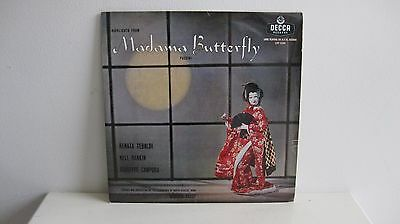 Highlights From Madame Butterfly - Puccini - Record Vinyl LP