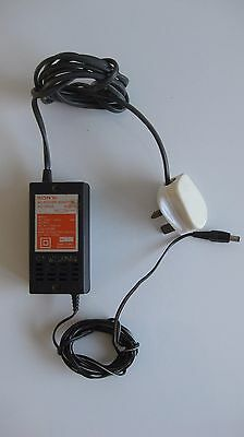 Genuine Sony CD Walkman / Discman UK AC Power Adaptor Supply AC-930A 9V 500mA