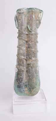 Ancient Roman Glass Balsamarium c.2nd-3rd century A.D.