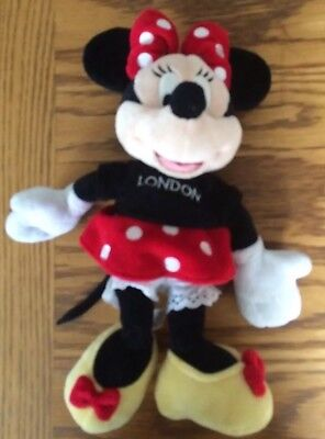 Walt Disney Store Minnie Mouse Collectible Plush Cuddly Soft Toy