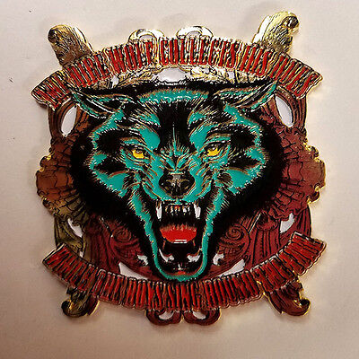Grateful Dead - Dire Wolf - Hat Pin - Brand New - Hp112