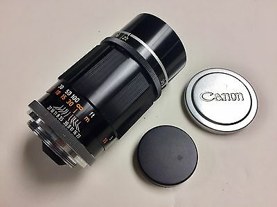 Canon 135mm f3.5 for Leica M39 LTM screw mount nice