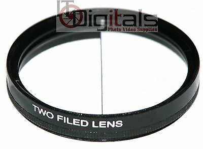 82mm Split Field Two Field Special Effects Lens Filter Two Depth Of View 82 mm