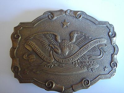Vintage USA Belt Buckle - Right to Keep and Bear Arms