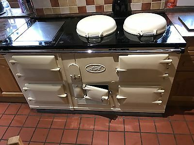 1930's Gas Converted 4 oven Aga in cream - Lovely condition