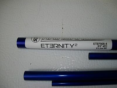 Rainshadow Eternity  ETEF908-4CB 4 pc. 9' 8wt.flyrod blank color cobalt blue