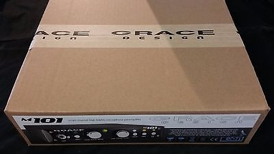 Grace Design M101 High-Fidelity Microphone Preamp, NIB. Free shipping to Canada!