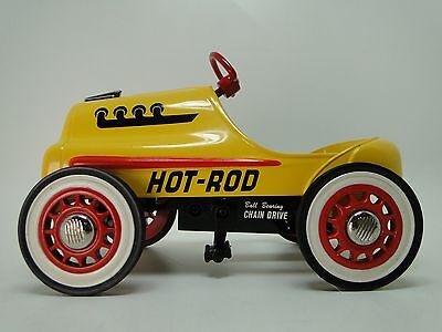 Pedal Car 1940s Ford Hot Rod Race Custom Vintage Classic Midget Show Model