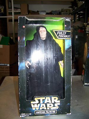 "Star Wars Emperor Palpatine 12"" Action Collection MIB 1998 Kenner   NEW!!!"