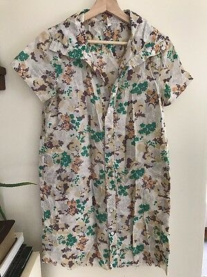 Women's Worker's Everybody All Cover Garage Dress Military Taste 179/wg Floral