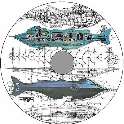 Nautilus Scale EXTERIOR & INTERIOR DRAWING 19 Page Article + 12 page R/C Article