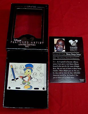 Disney Jiminy Cricket Featured Artist Trading Pin 2005 Limited Edition Clark