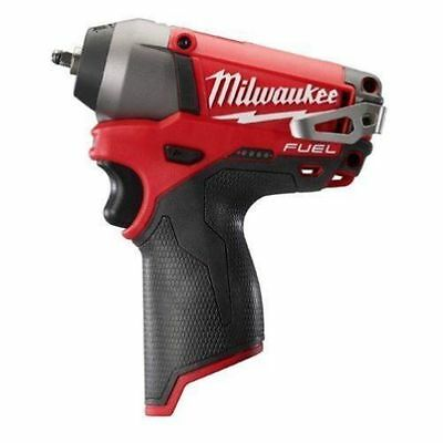 Milwaukee 2452-20 M12 FUEL 12-Volt 1/4-Inch Cordless Impact Wrench w/ Belt Clip