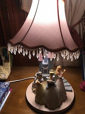 Disney Princess Castle Table Lamp by Hampton Bay 2009 Cinderella Snow White