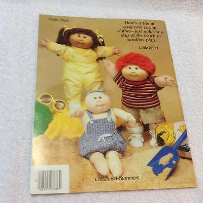 Xavier Roberts Presents Designer Clothes From the Cabbage Patch Plaid Book 7686
