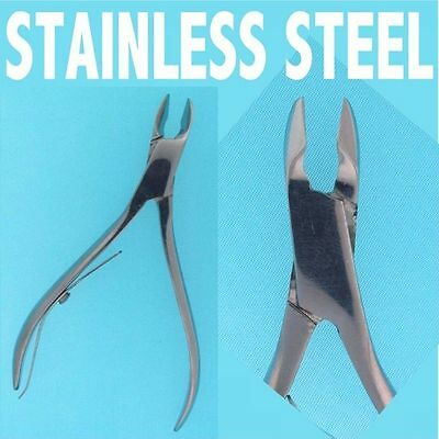 GENUINE SURGICAL STAINLESS STEEL Cuticle NIPPERS CUTTERS PODIATRY NAIL CARE 8812