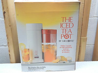MR. COFFEE 2 Qt. Iced Tea Pot~Model TM1~New!