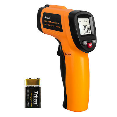 Helect 1020 Non-contact Digital Laser Infrared Thermometer Gun With LCD Display