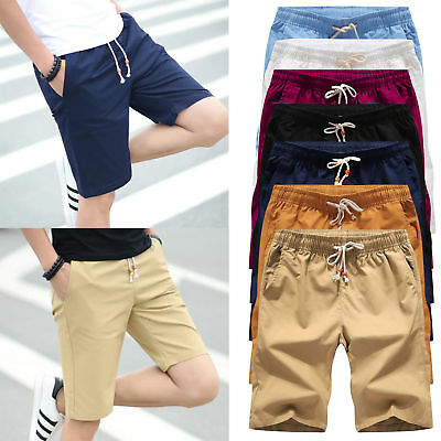 Mens Shorts Sports Casual Short Pants Trousers Military Army Cargo Summer Pocket
