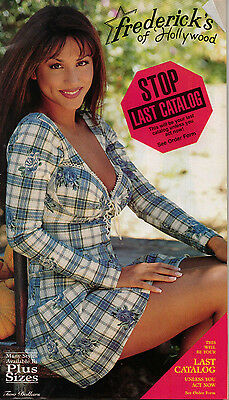 Frederick's of Hollywood 1995 Vol 96 Issue 408 Catalog Women's Fashion Lingerie