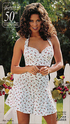 Frederick's of Hollywood 1996 Vol 98 Issue 416 Catalog Women's Fashion Lingerie