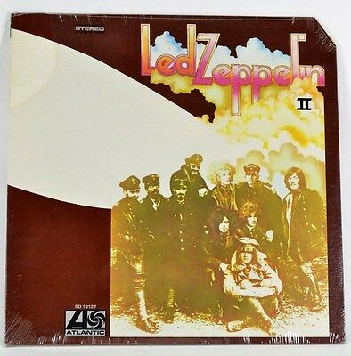 Led Zeppelin II RECORD Lp US Pressing ATLANTIC Stereo SD 19127 SEALED w/Sticker