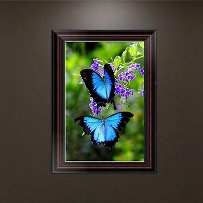Butterfly 5D Diamond Embroidery Painting Cross Stitch Home Wall Decor DIY Crafts
