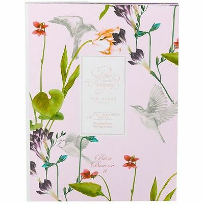 TED BAKER Oriental Bloom Assorted Gift Wrap Book