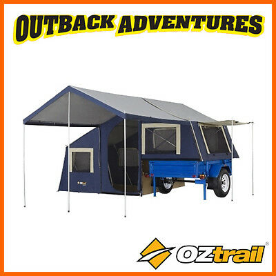 Oztrail Camper 7 Trailer Top Canvas Tent