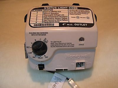Honeywell Natural gas valve control WV8840B1141