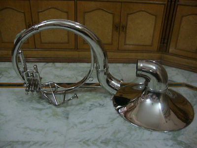BAND INSTRUCTORS APPROVED Bb SOUSAPHONE TUBA -BRAND NEW WITH CARRY BAG+M/P