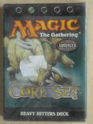 MTG Magic the Gathering - Core Set 8th - Heavy Hitters Deck (Neu) englisch