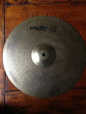 """Paiste 302 14"""" Hi Hat Cymbal Bottom Only"""