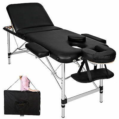 Professional Folding Massage Therapy Bed Portable Tattoo Beauty Salon Table New