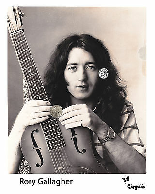 RORY GALLAGHER PRESS PUBLICITY PROMO BRAND NEW HIGH GLOSS 8x10 PHOTO REPRINT