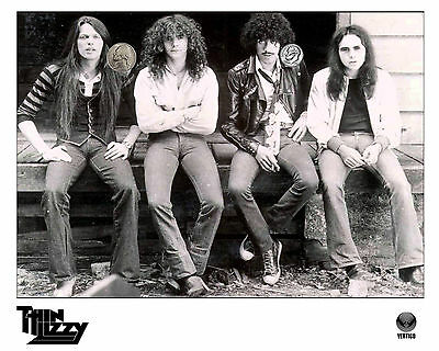 THIN LIZZY CLASSIC GROUP PRESS PUBLICITY PROMO NEW GLOSSY 8x10 PHOTO REPRINT