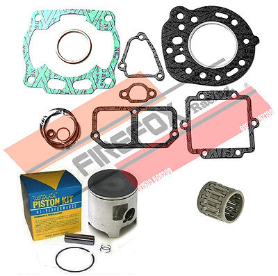 Kawasaki KX125 KX 1989 56mm Bore Mitaka Top End Rebuild Kit Inc Piston & Gaskets