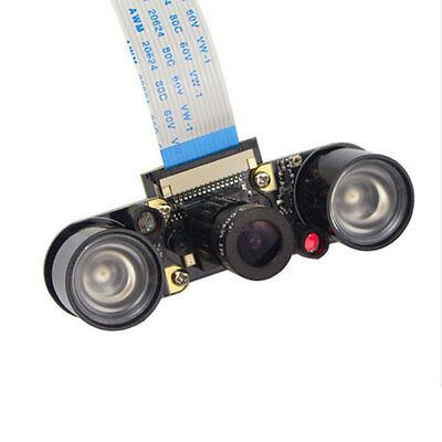 Night Vision IR Surveillance HD Wide Angle 5MP Camera Light For Raspberry Pi