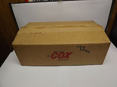 Cox 3373 Full Box 12 cards and the shipping box,