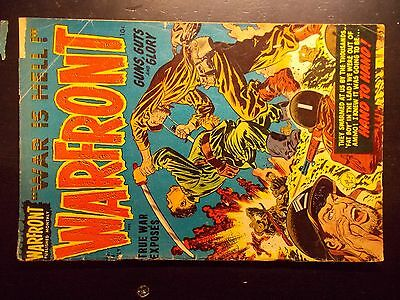 Warfront #8 Harvey comic  July 1952  Graphic